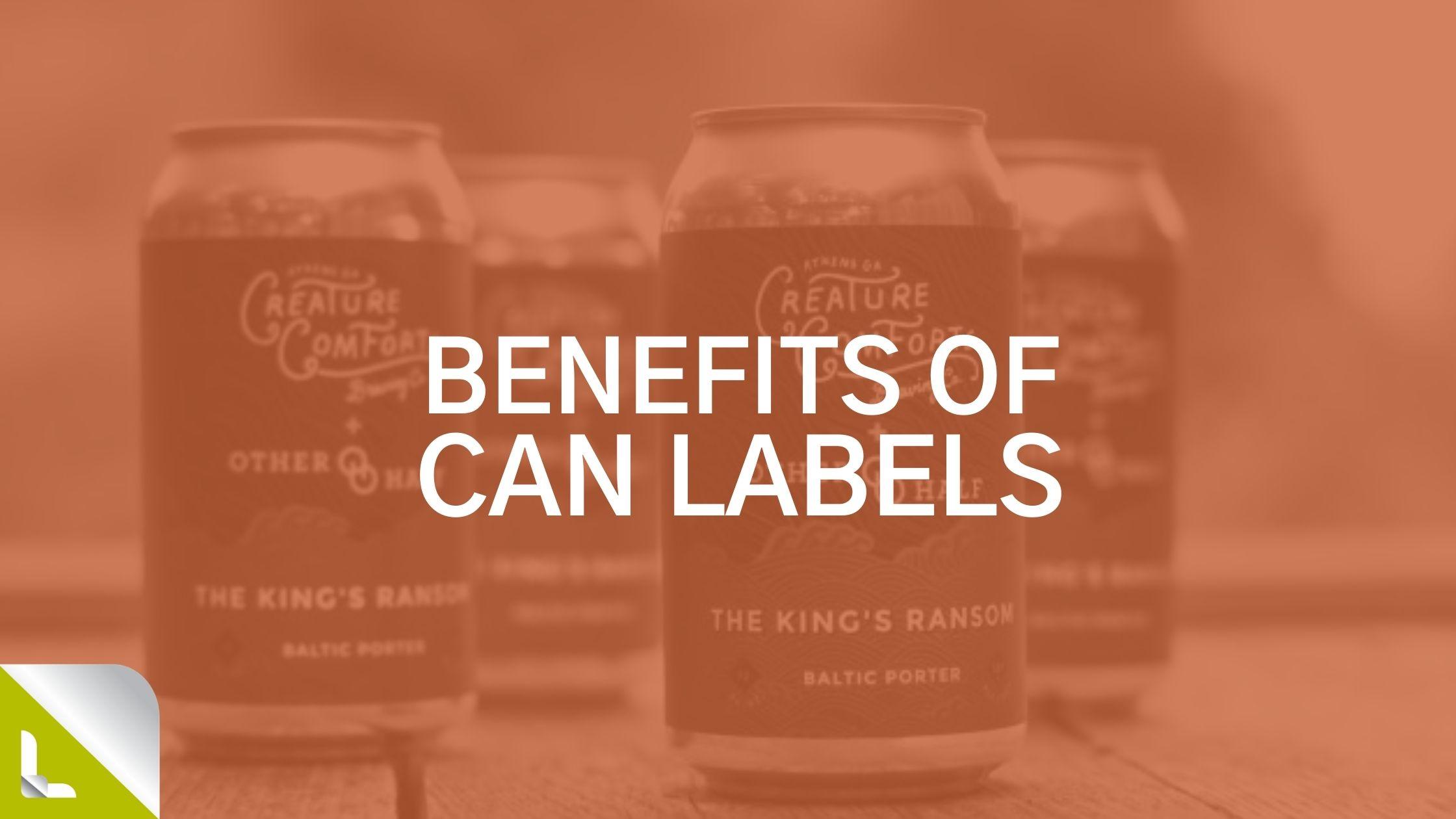 Labeltronix Can Labels