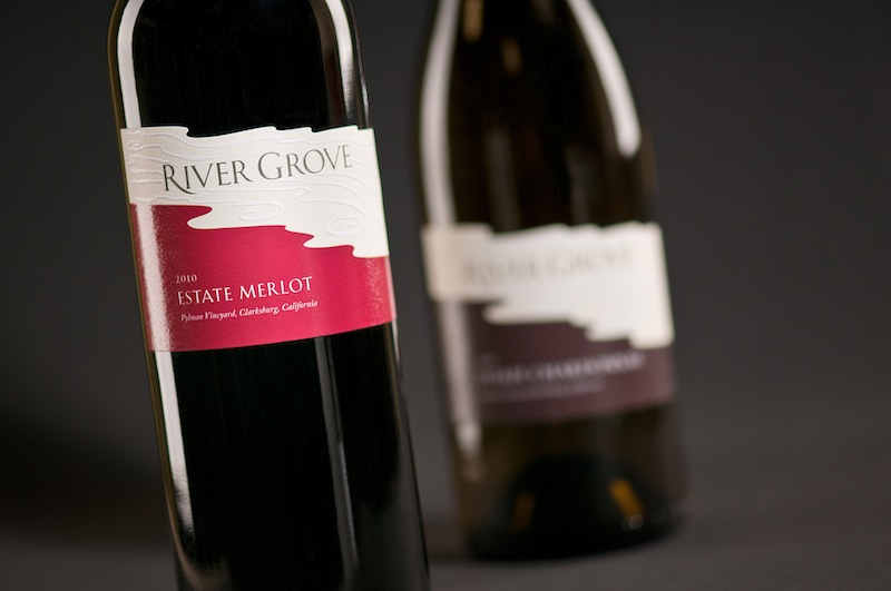 branded wine labels