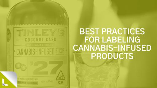 cannabis label best practices