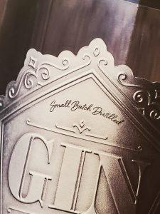 metal badge spirits label