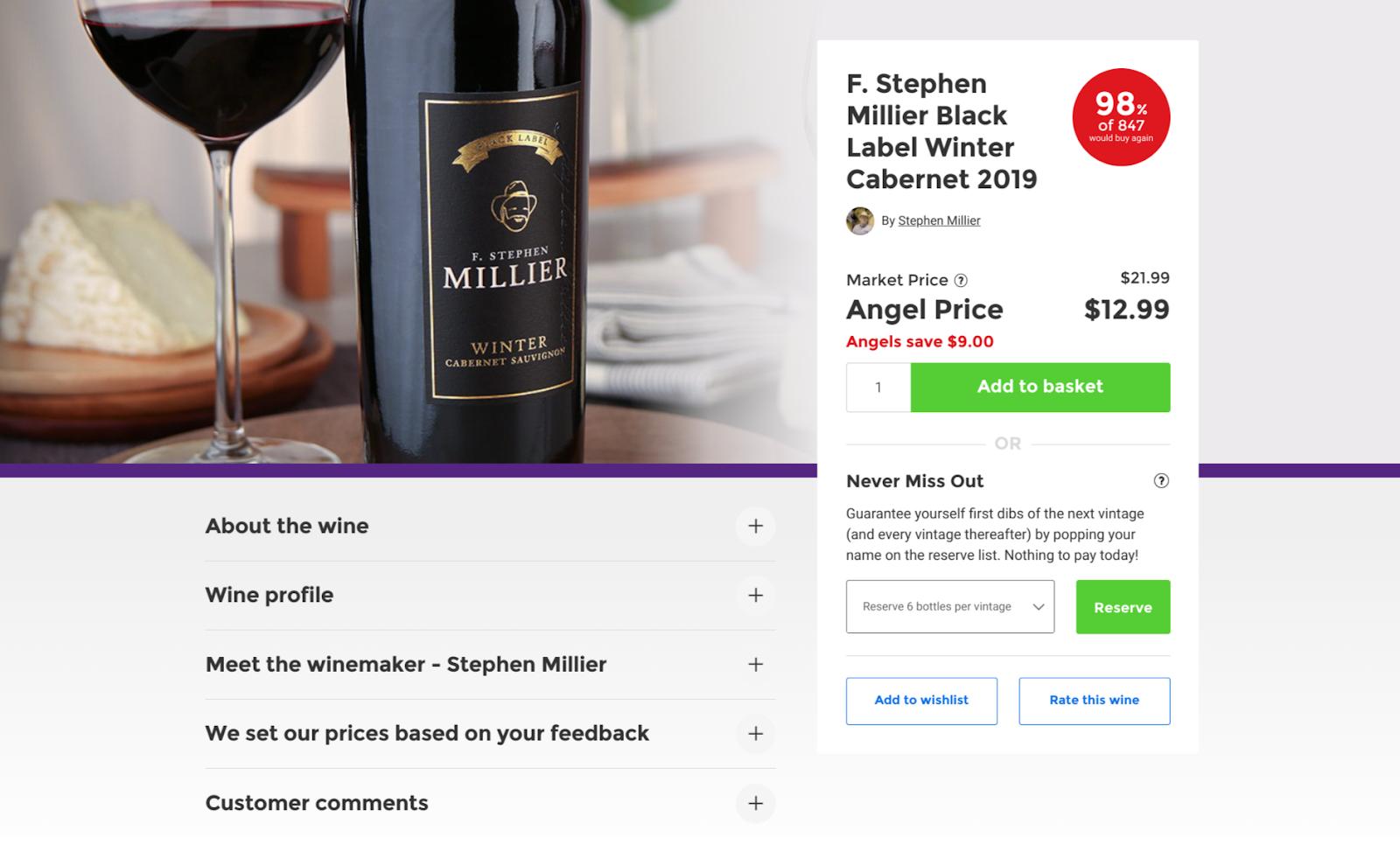naked wine website