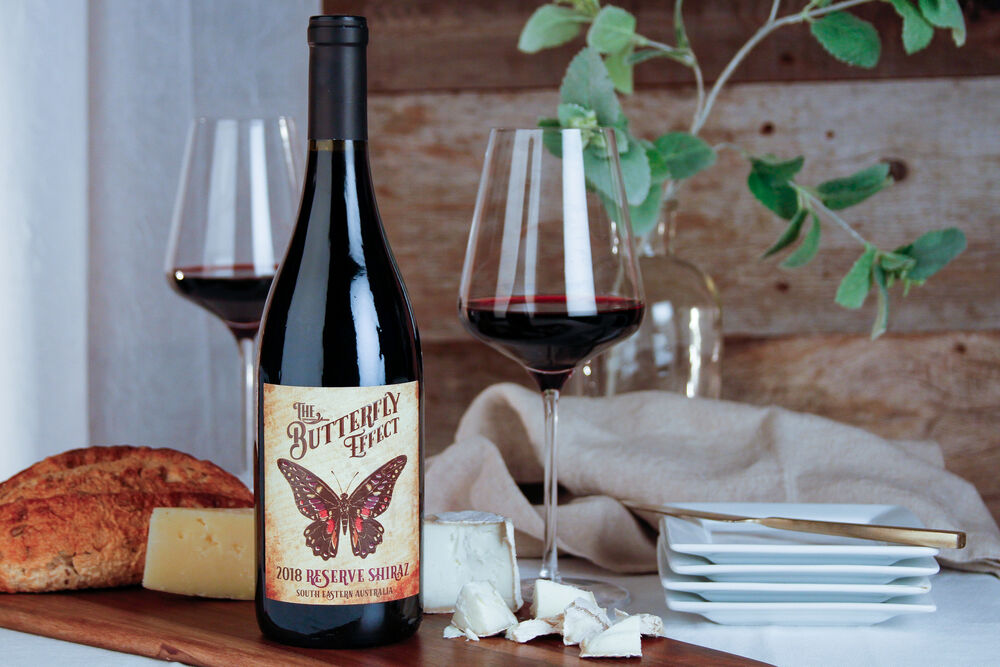 wine label photo